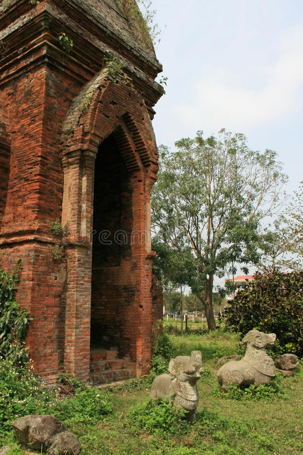 Челка путешествия - Entre Hué et Da Nang - Вьетнам стоковое изображение rf