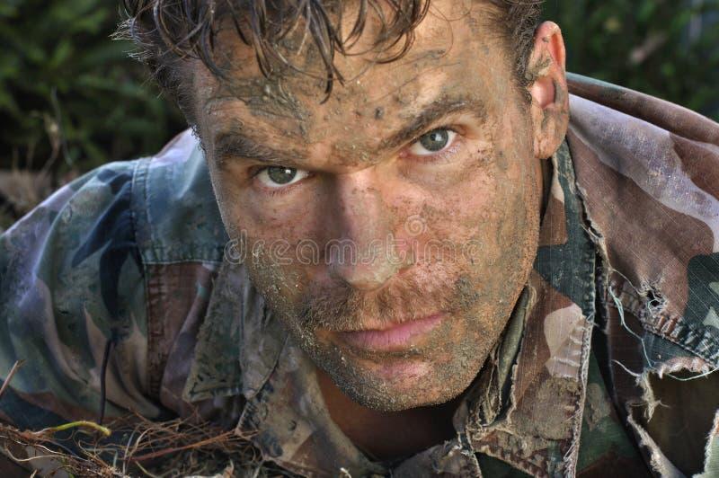человек армии стоковая фотография rf