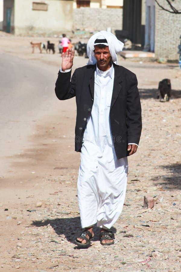 человек бедуина стоковое изображение rf