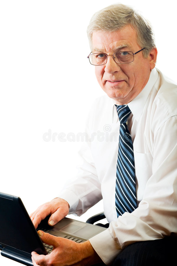 человек дела содружественный возмужалый стоковое изображение rf