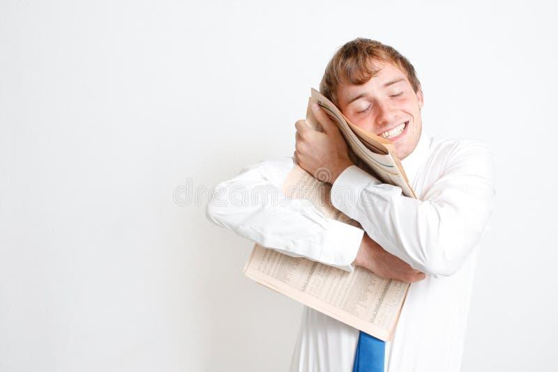 человек дела счастливый стоковое фото