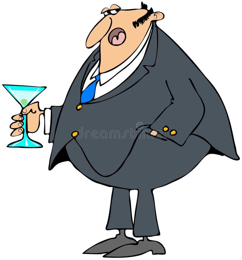 Человек держа коктеил Стоковые Фото