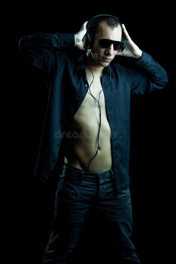 человек диско стоковая фотография