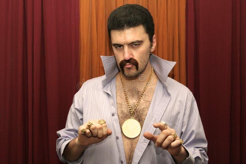 человек диско стоковое изображение