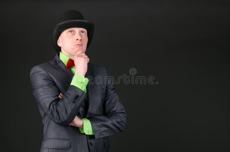 человек задумчивый стоковое изображение