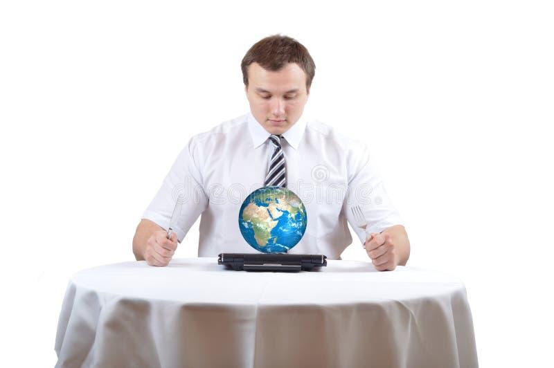 человек земли дела стоковое фото