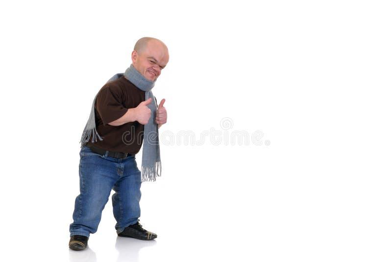 человек карлика маленький стоковая фотография