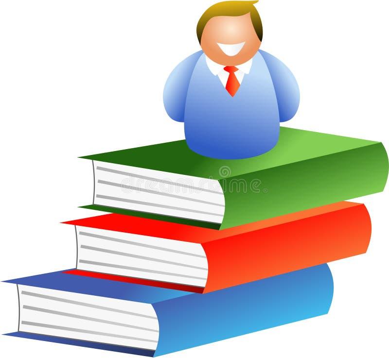 человек книги бесплатная иллюстрация