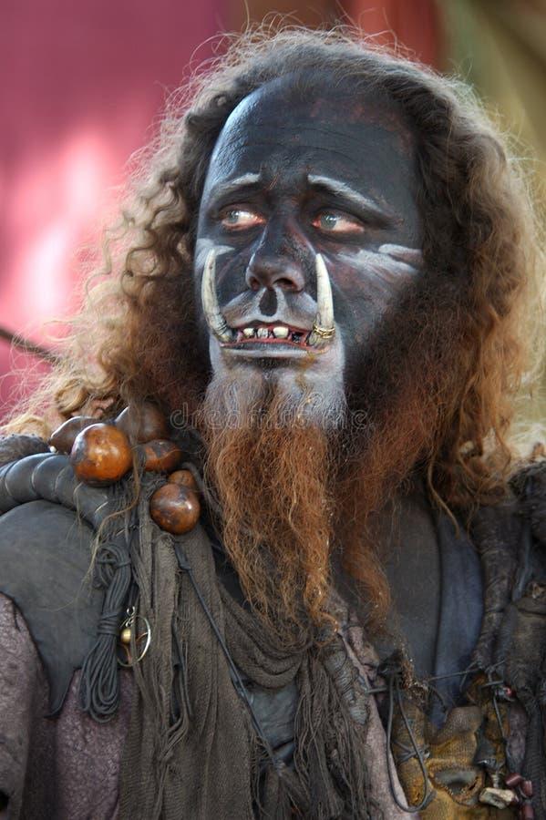 человек короля одичалый стоковая фотография rf