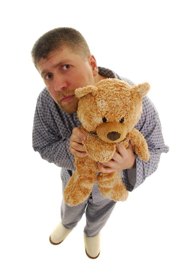 человек медведя стоковое изображение