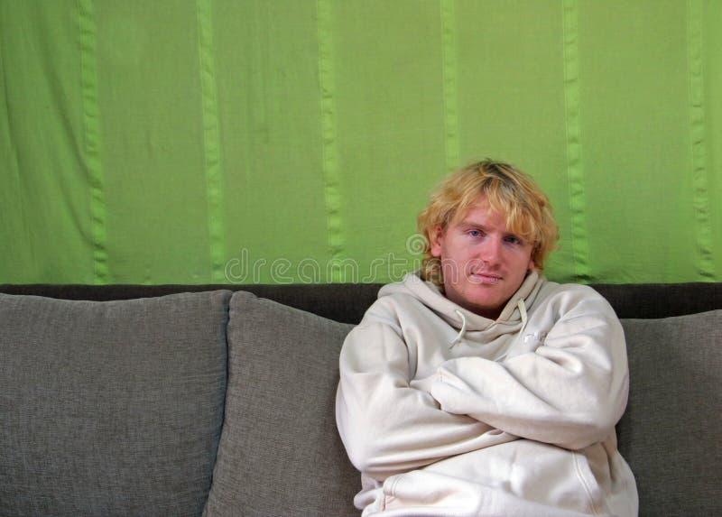 человек несчастный стоковое изображение