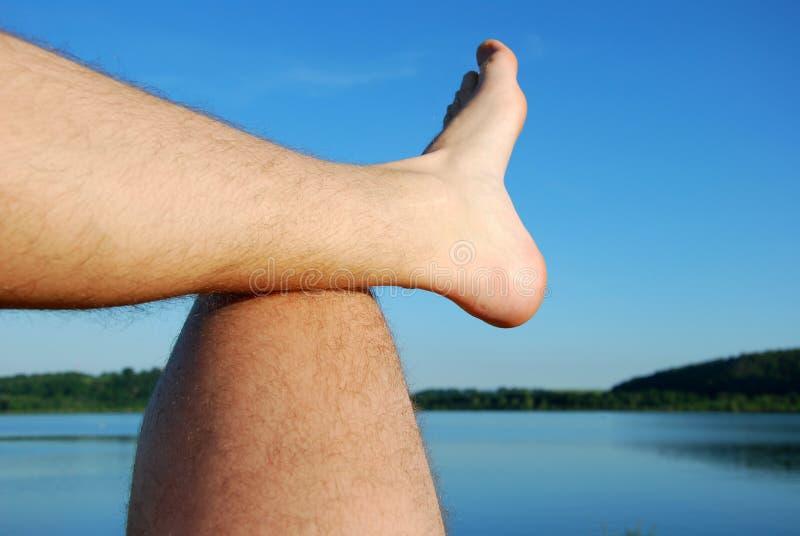 человек ног стоковое фото rf