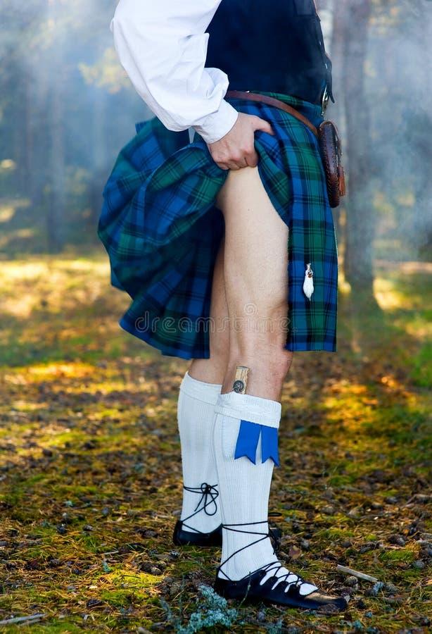 человек ног kilt стоковые изображения