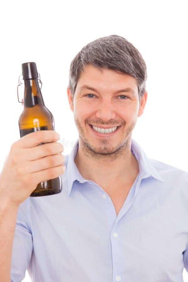 Человек пива стоковая фотография rf