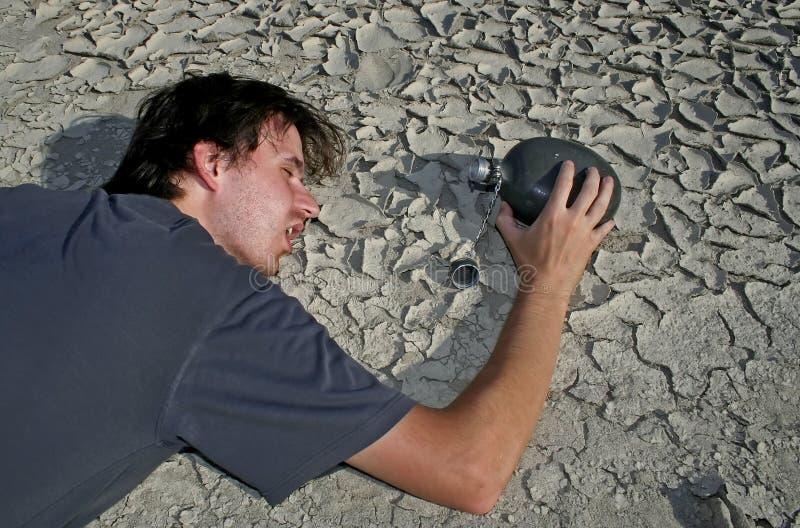 человек пустыни стоковое фото