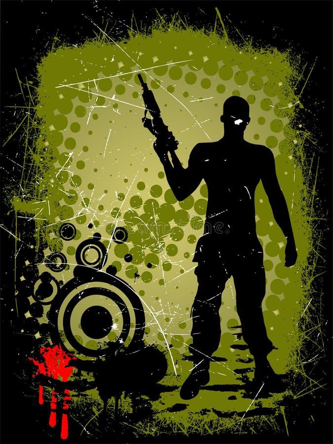 человек пушки бесплатная иллюстрация