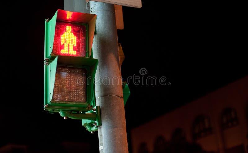 Человек светофора стоковые фото