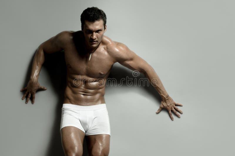 человек сексуальный стоковая фотография rf