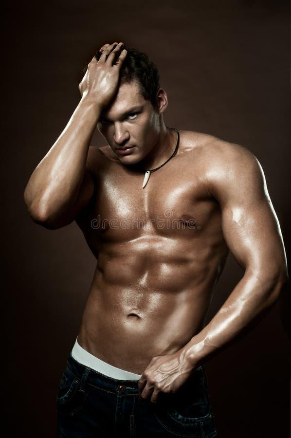 человек сексуальный стоковая фотография