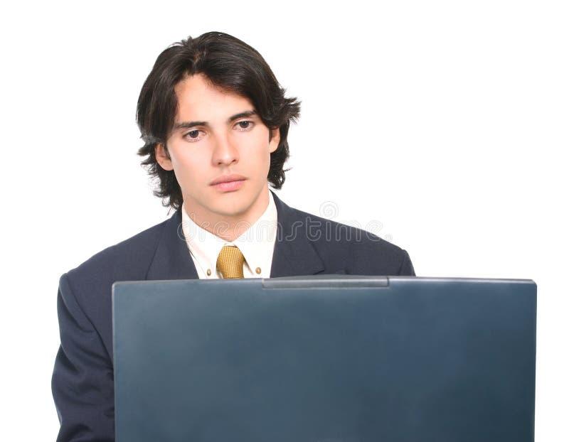 Download человек сконцентрированный делом Стоковое Изображение - изображение насчитывающей корпоративно, добросердечно: 487521