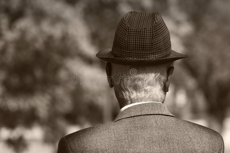 человек старый