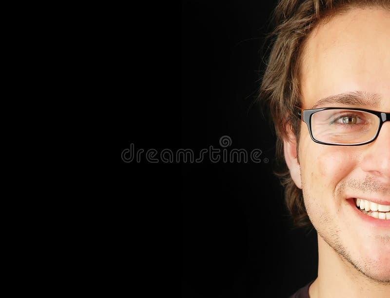 человек стороны половинный стоковое изображение rf