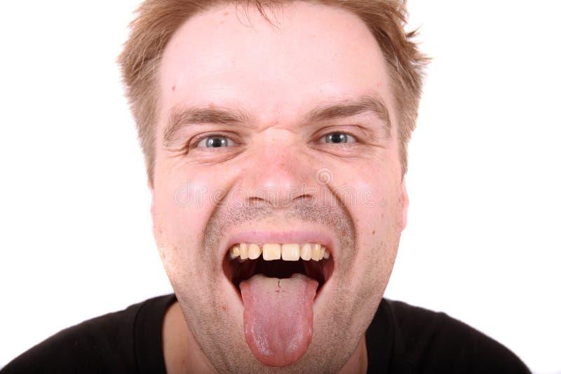 человек уродский стоковая фотография