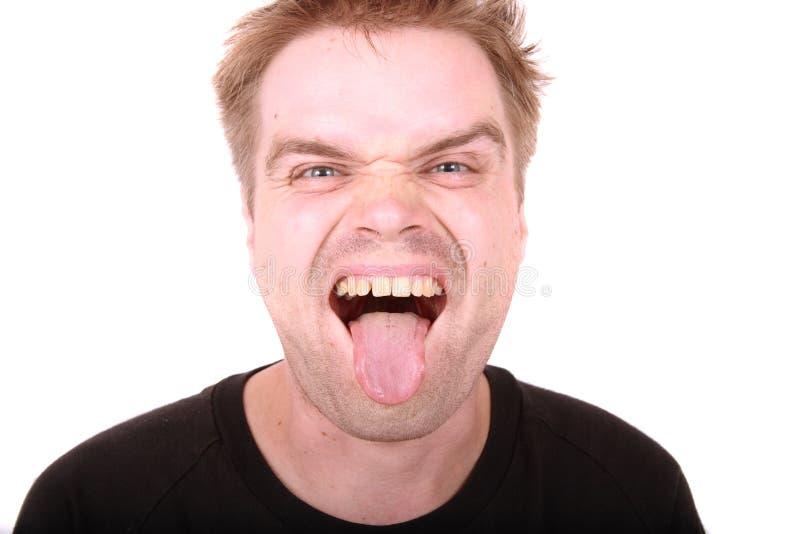 человек уродский стоковое фото rf