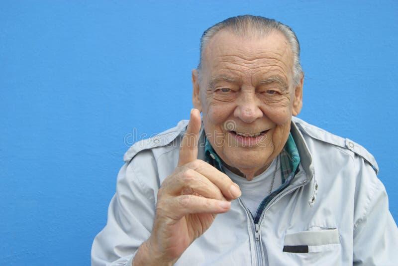 Человек 1 старший стоковая фотография