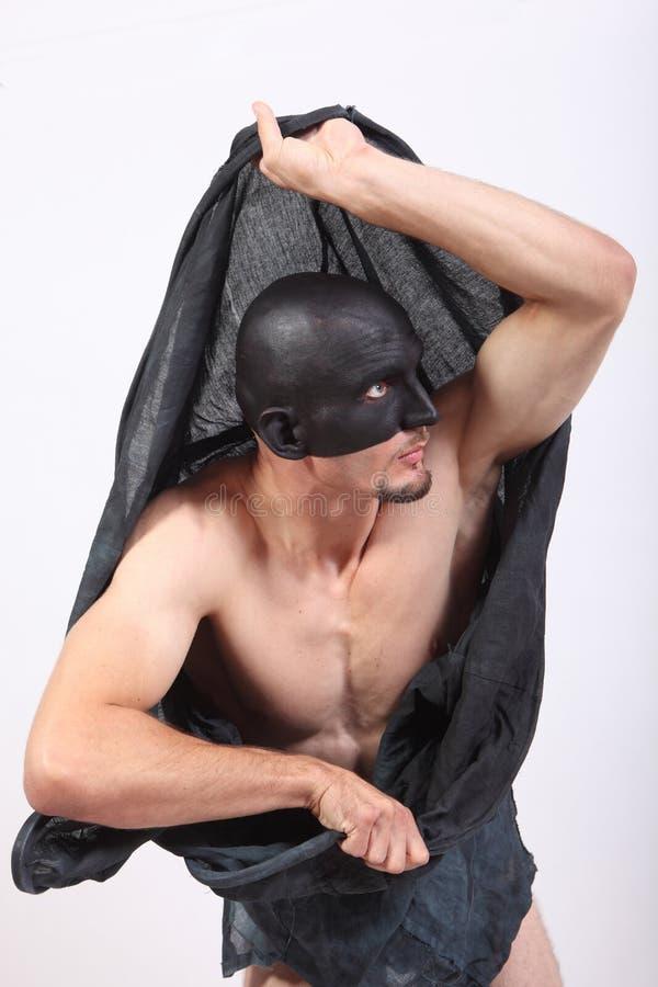 человек bizare мышечный стоковое изображение