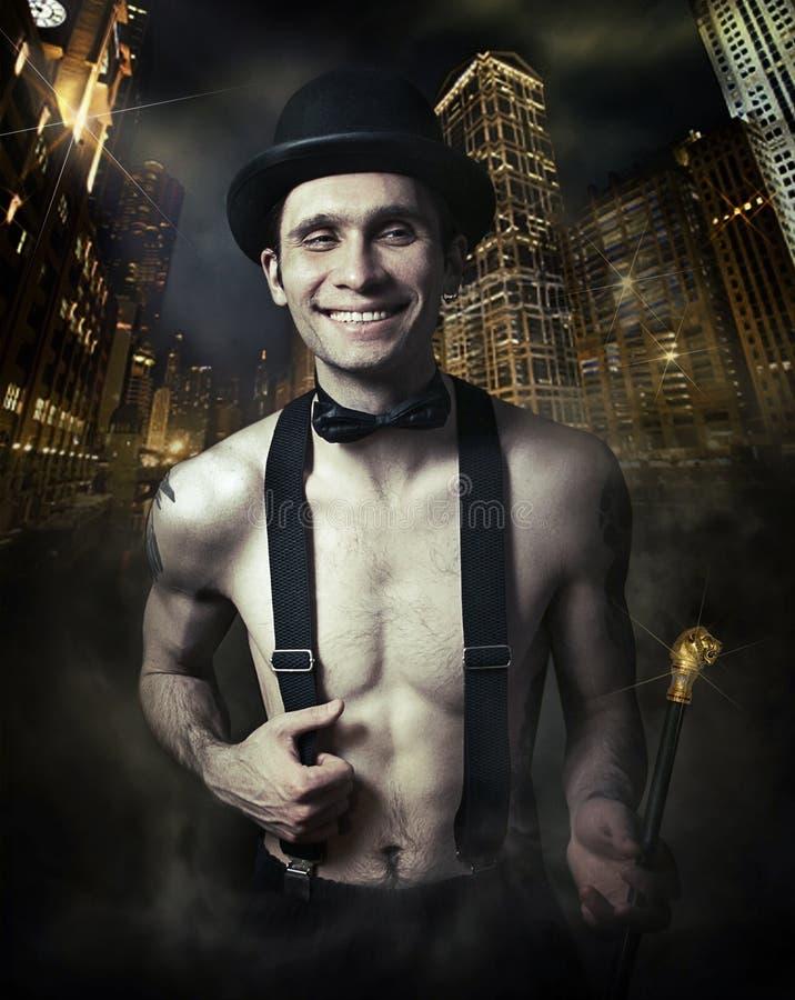 человек chicago стоковая фотография