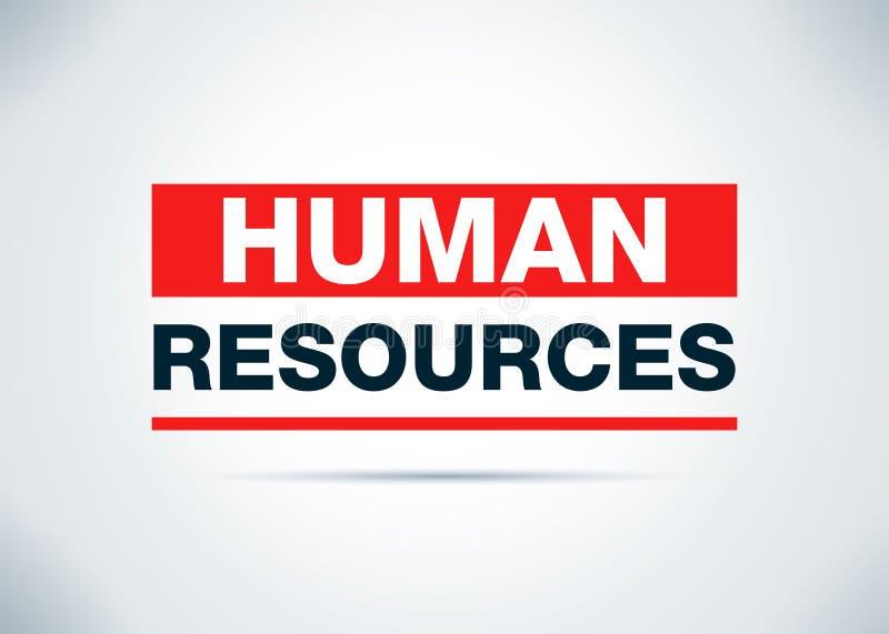 Человеческие ресурсы резюмируют плоскую иллюстрацию дизайна предпосылки бесплатная иллюстрация