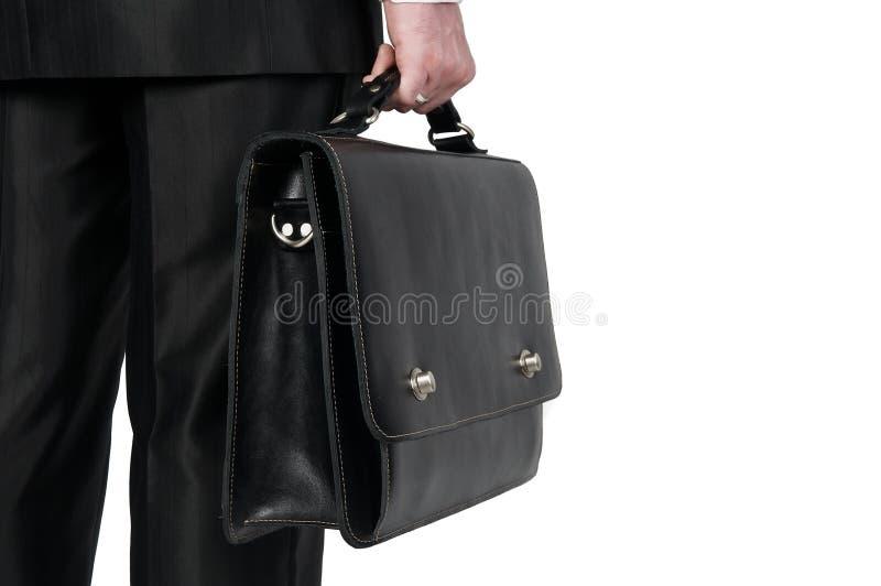 чемодан бизнесмена стоковые фото
