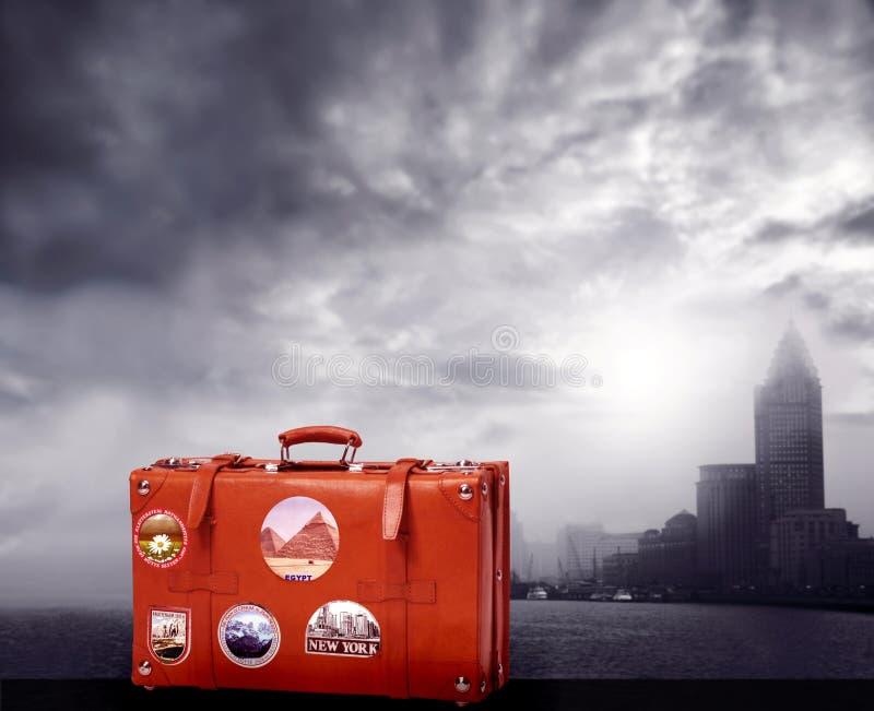 чемодан стоковое изображение