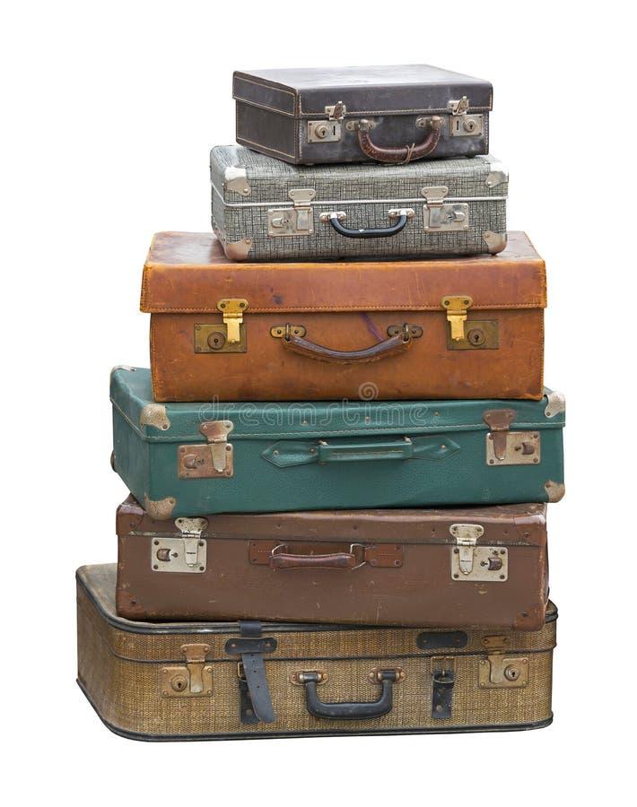 чемоданы стоковое изображение rf