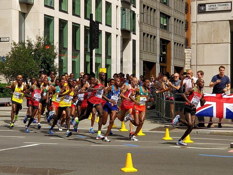 Чемпионаты 2017 марафона IAAF стоковое фото