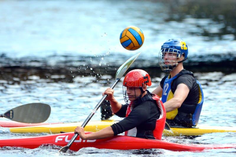 Чемпионаты поло каное стоковое фото rf