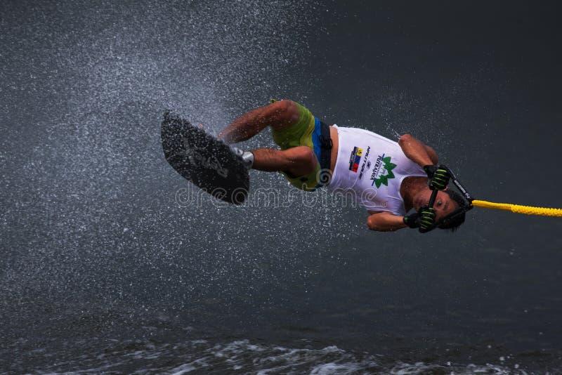 Чемпионаты 2014 лыжи & бодрствования Путраджайя Nautique стоковые фото
