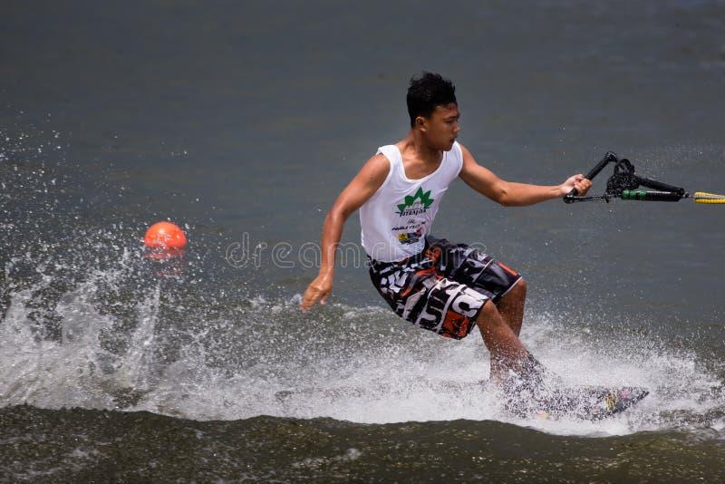 Чемпионаты 2014 лыжи & бодрствования Путраджайя Nautique стоковая фотография