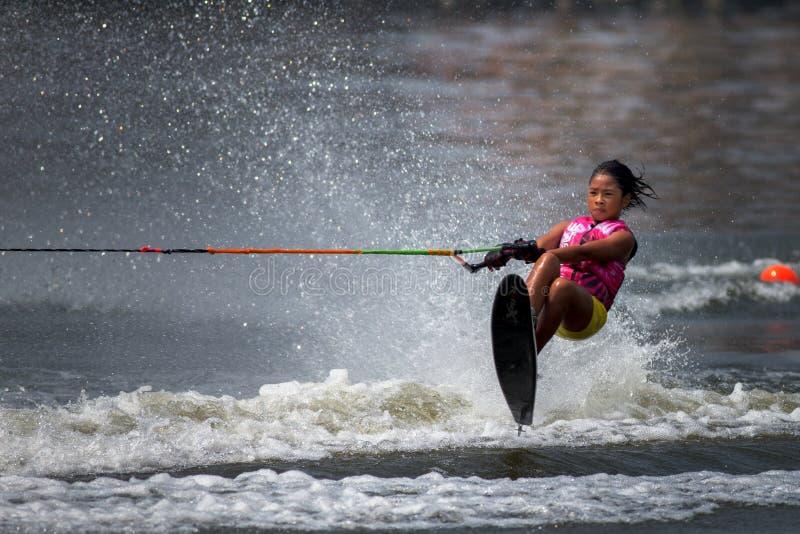 Чемпионаты 2014 лыжи & бодрствования Путраджайя Nautique стоковое изображение rf