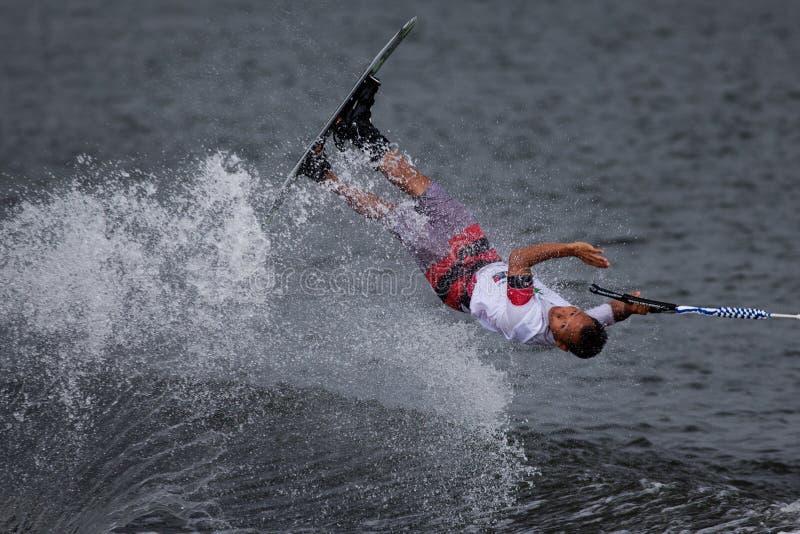 Чемпионаты лыжи & бодрствования Путраджайя Nautique стоковое фото rf