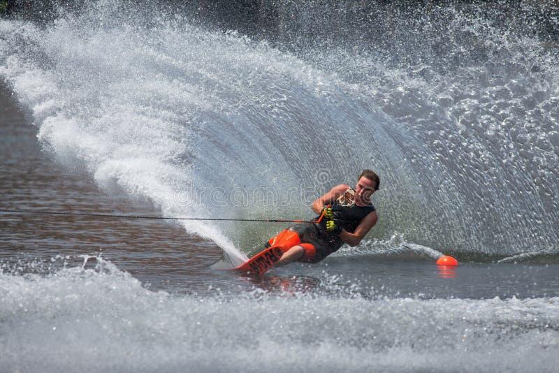 Чемпионаты 2014 лыжи & бодрствования Путраджайя Nautique стоковые изображения
