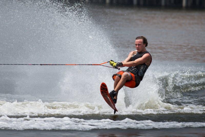 Чемпионаты 2014 лыжи & бодрствования Путраджайя Nautique стоковое изображение