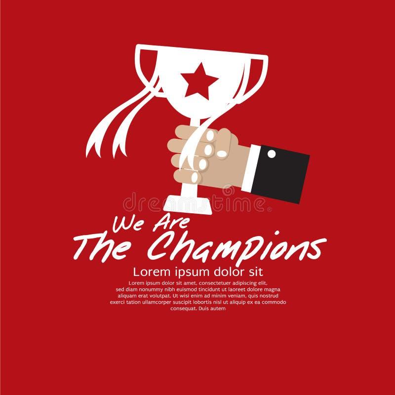 Чемпионы. иллюстрация штока