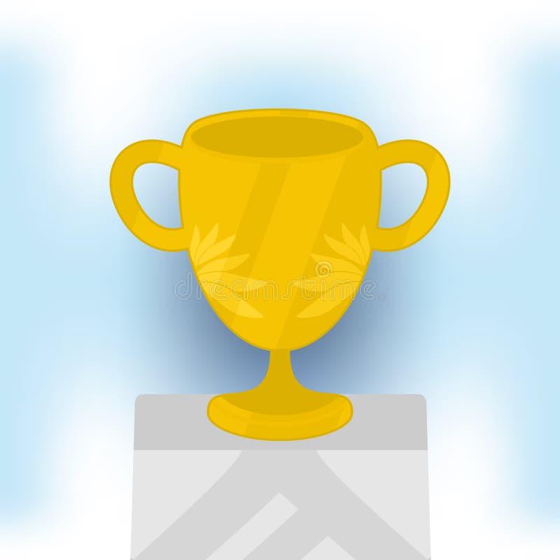 Чемпион чашки стоковые фото