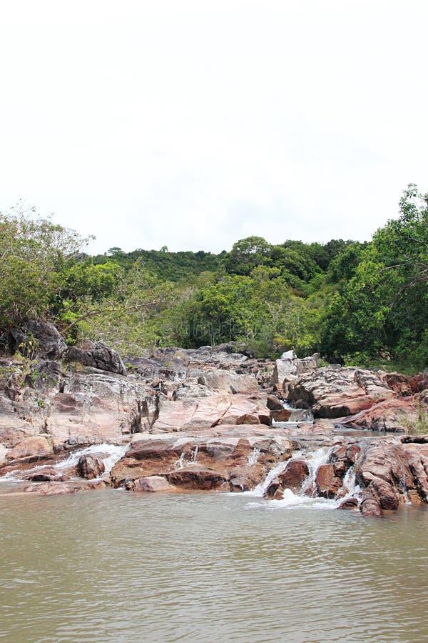 Чем водопад Sadet стоковое фото rf