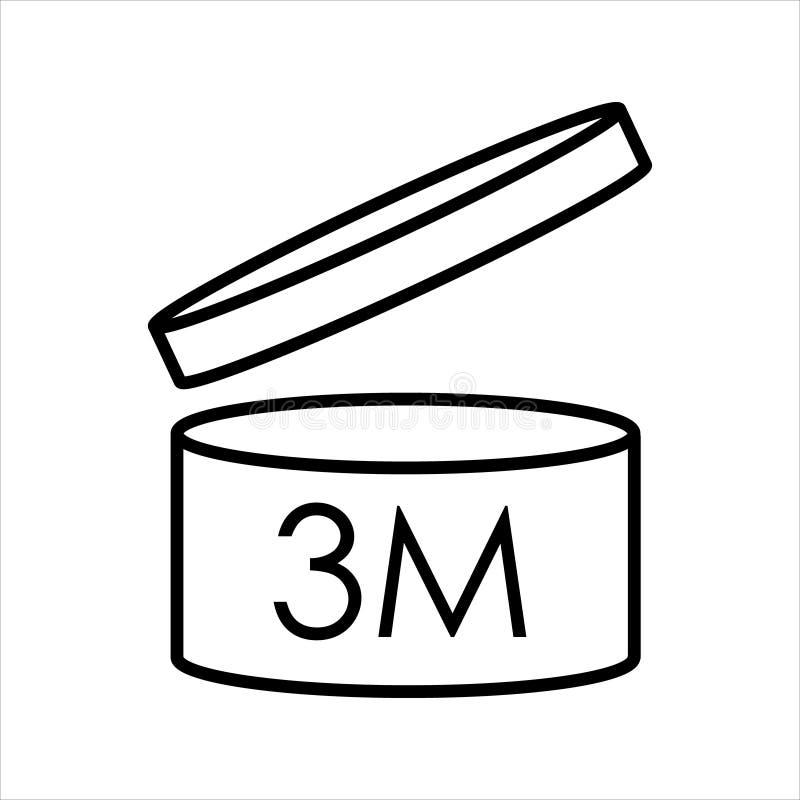 Через период после открытия символа PAO бесплатная иллюстрация