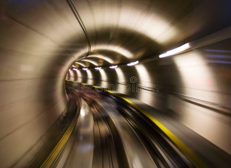 Через тоннель стоковые фото