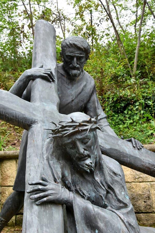 Через bartolino или через crucis в Giulianova стоковые изображения