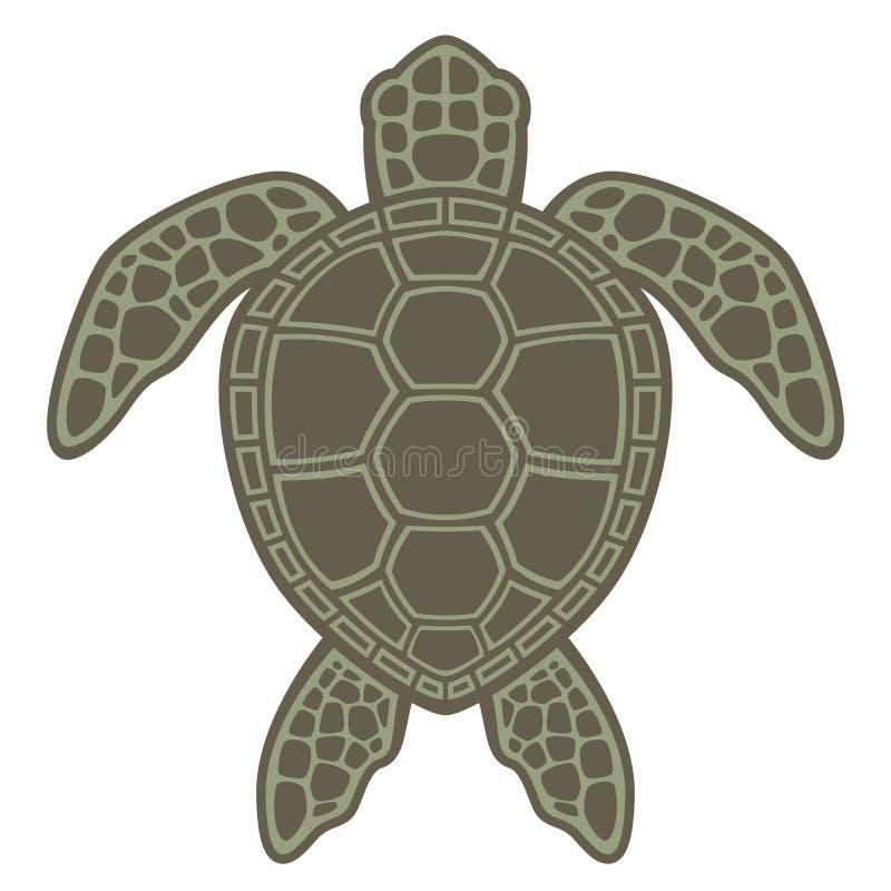 черепаха зеленого моря бесплатная иллюстрация